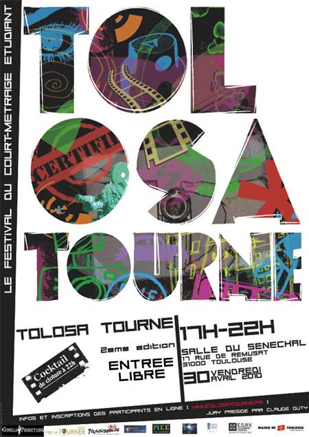 Affiche Tolosa Tourne 2e Edition Vianney