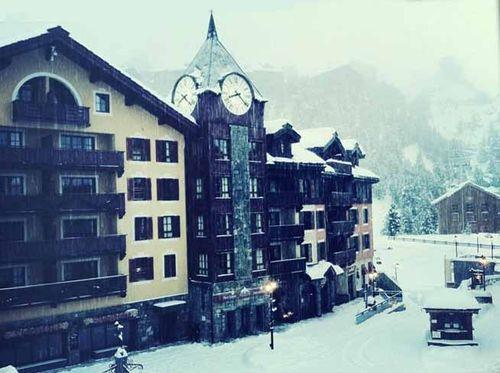 Les Arcs sous la neige copie