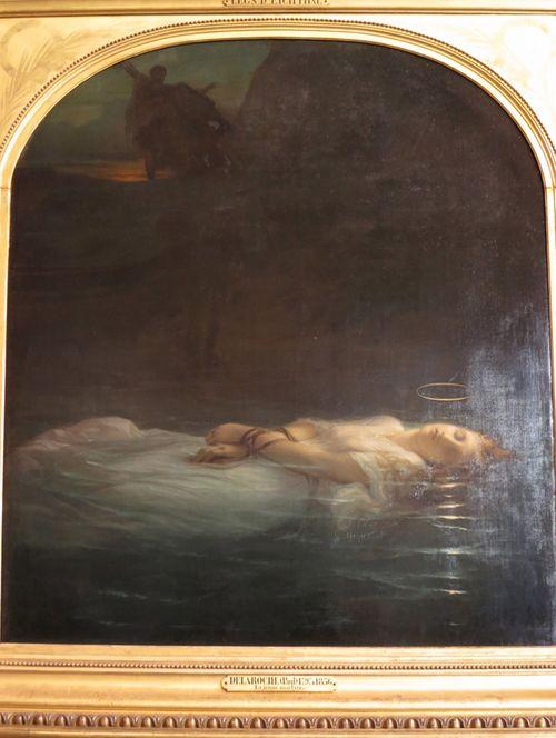 Paul Delaroche La jeune martyre 1855