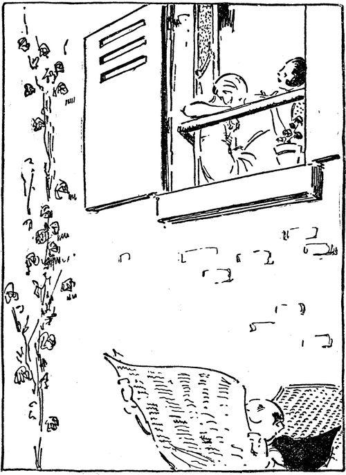 Pécoud à la fenêtre