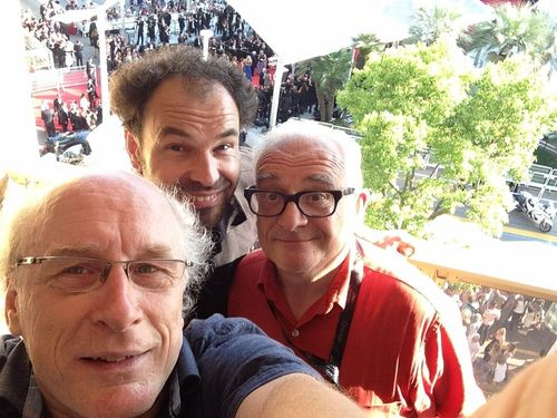 Le balcon de Michel à Cannes