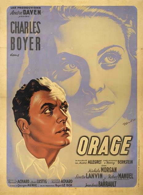 Orage 1938