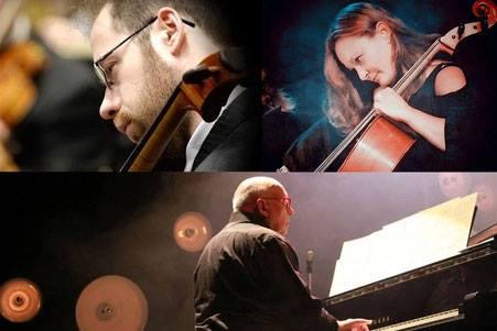 Anël Rousseau et Patricia Trouvé Violoncelles  Philippe Davenet Piano