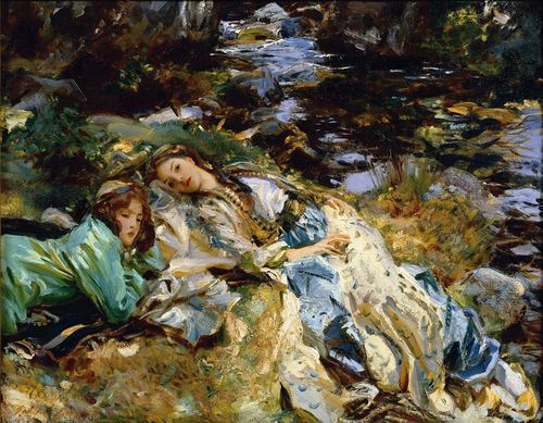 John Singer SARGENT The Brook 1907