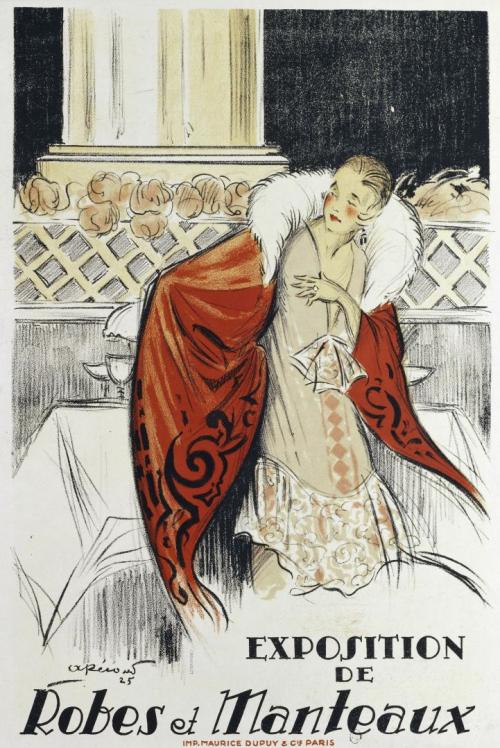 A.Pécoud 1920:25 Robes manteaux