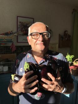 Claude et les aubergines