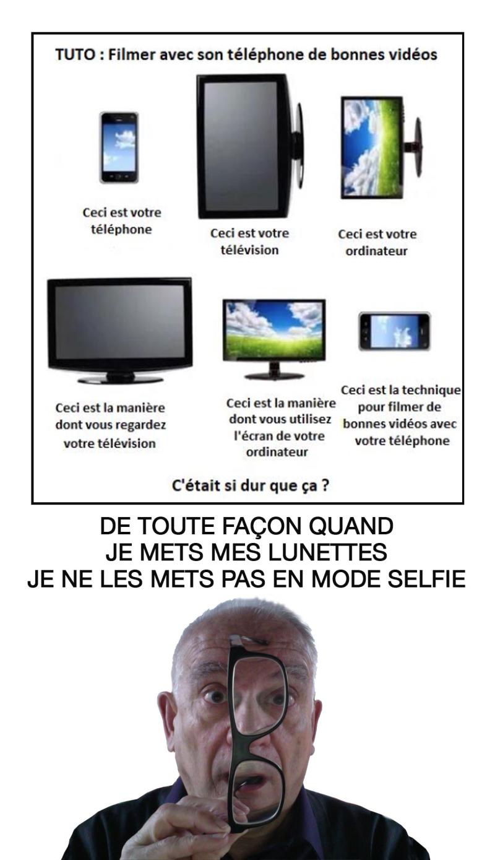 Mode selfie