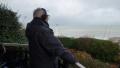 Claude face mer terrasse