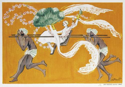 A.Pécoud 1920:25 Folie indienne