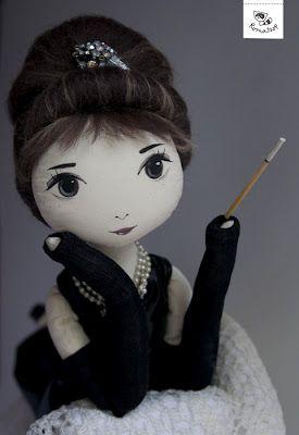 Audrey poupée
