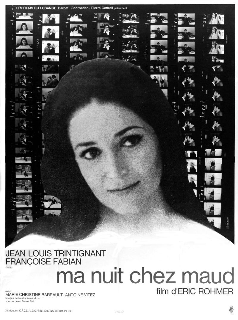 Ma nuit chez Maud 1969