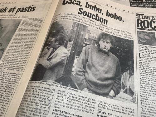 Souchon Libé 1986
