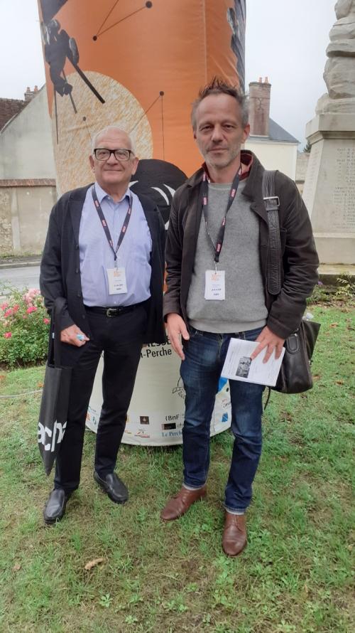 Rémalard Claude et Philippe Troyon